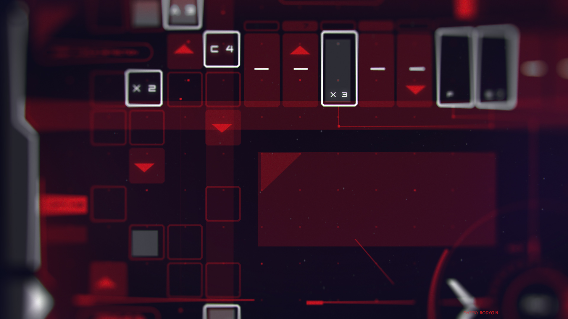 Control Screen - Sci-Fi User Interface concept